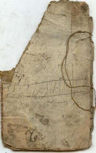 18,7 X 11 cm, Kinderzeichnung, Salomon Feit, Simon Feit (Nizi_Gede_53)