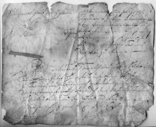 Legitimationsschreiben, 1788, Jacob Feit von Ziehsen, Steinheuer zu Ehlingen (Nizi_Leg_1)